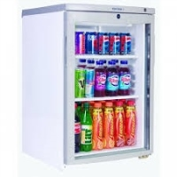1 Glass Door Static Cooling  Undercounter Refrigerator