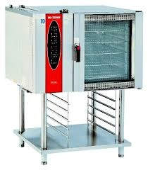 10-Tray Electric Combi Oven Steamer With Computer Panel