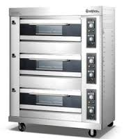 3-Layer 6-Tray Automatic Gas Food Oven