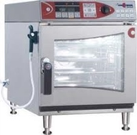 6-Tray Electric Combi-Steamer With Menu Memory