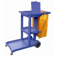 Cleaning Multi-functional Janitor Cart Trolley