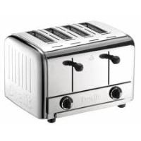 Electric 4-Slicer Commercial Toaster