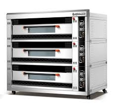 3-Layer 6-Tray Electric Food Oven With Time Controller