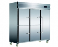 5 Door Commercial Freezer With Double Controls