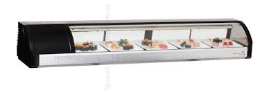 Static Cooling Sushi Case